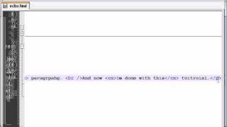 XHTML and CSS Tutorial - 5 - Bold, Italics, and Comments
