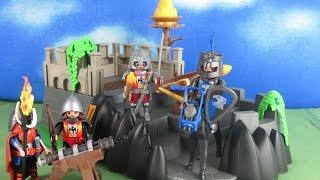 Playmobil Ritter deutsch: Bastion (Ritterburg) der Knights aufbau & Review