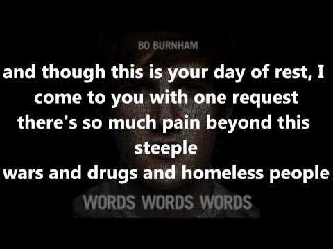 Bo Burnham - Rant With Lyrics