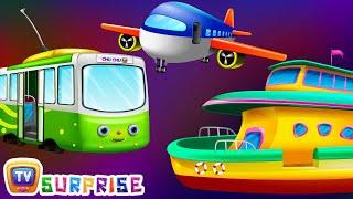 Surprise Eggs Toys – Public Transport Vehicles for Kids   Aeroplane & more   ChuChuTV Egg Surprise