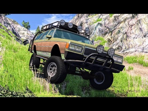 Off Road Crashes & Fails #3 – BeamNG Drive