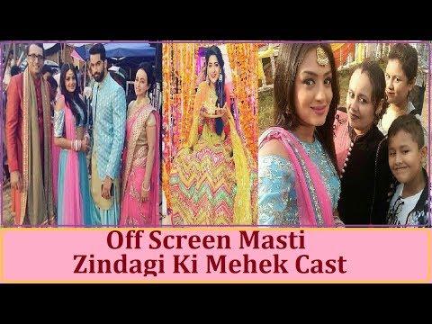 Off Screen Full Fun and Masti of Zindagi Ki Mehek Cast !