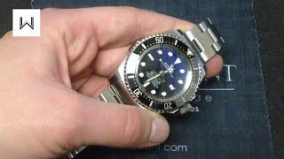Rolex Deepsea Sea-Dweller D-Blue 116660 James Cameron Luxury Watch Review