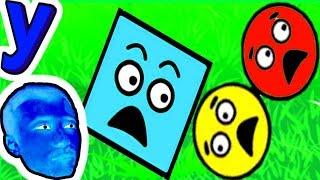 Вот Это ПОВОРОТ! Разноцветные Шары и Квадраты ТРУДЯТСЯ рады ОБЩЕЙ ЦЕЛИ #169 ИГРА для ДЕТЕЙ