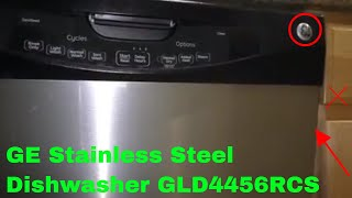 ✅  How To Use GE Stainless Steel Dishwasher GLD4456RCS Review