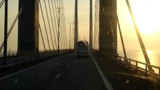 preview picture of video 'on the road toward Danmark (Öresundsbron)'