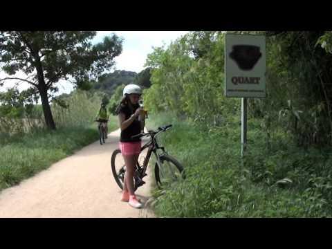 En bicicleta de Girona a LLambilles - Ruta del Carrilet 2
