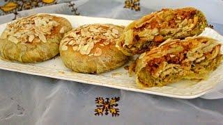 تحضيرات رمضان /بسطيلات صغار بالدجاج وعلى شكل بريوات بطعم رائع جدا مع طريقة الاحتفاظ