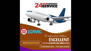 Safest Charter Air Ambulance Service in Gaya by Medivic