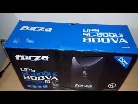Unboxing Ups Forza SL-800UL - Smart UPS 110V - 2017