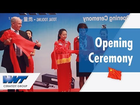 Inauguración de WNT China