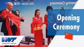 Successful opening ceremony for WNT China