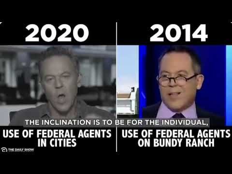 Fox News On Federal Crackdowns, Then Vs Now