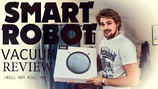 ILIFE A4S SMART ROBOTIC VACUUM Cleaner Unbox & REVIEW!