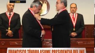 Francisco Távara Asume Presidencia Del JNE
