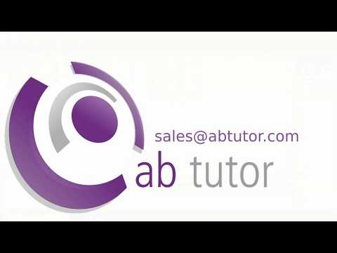 AB Tutor version 9 demo