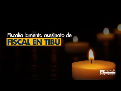 Fiscal Francisco Barbosa lamenta asesinato de Fiscal en Tibú