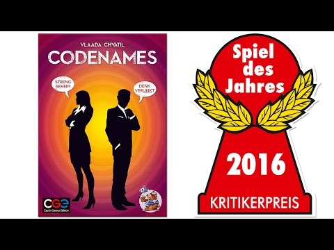 Spieletrailer Codenames - Vorschaubild