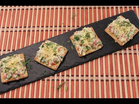 Chilli Cheese Canapes | Sanjeev Kapoor Khazana