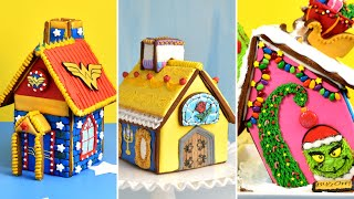 AMAZING GINGERBREAD HOUSES |Compilation|