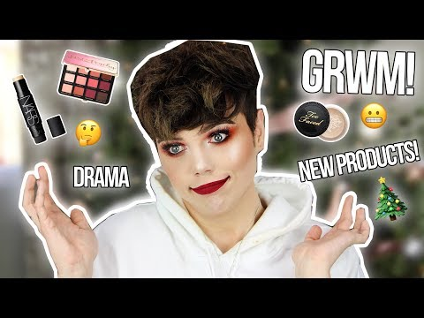 CHIT CHAT GRWM | Drama, New Products, and XMAS WEEK! Day 1 | Thomas Halbert