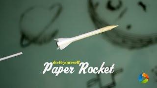 DIY : Paper Rocket from NASA :)