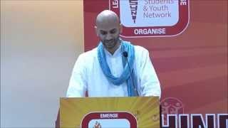 Hindu Youth Conference @WHC 2014_Samir Asthana