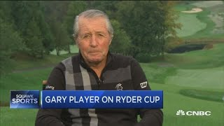 Golf legend Gary Player talks Ryder Cup