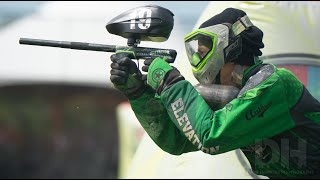 Two Amazing Professional Paintball matches!  Dynasty vs Ironmen and DMG vs Elevation