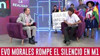 Evo morales en Entrevista C5N con Gustavo Sylvestre Argentina -Golpe en Bolivia - Elecciones