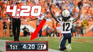 "NFL ""4:20"" Touchdowns"
