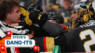 NHL Worst Plays of The Week: Goalie Fight!?   Steve's Dang Its