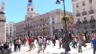 preview picture of video '(3D) Madrid Downtown - Royal Palace, Opera, Puerta del Sol, Preciados Full HD 1080i'