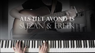 Als Het Avond Is (Piano & Guitar Cover)   Suzan & Freek | Acoustic Version
