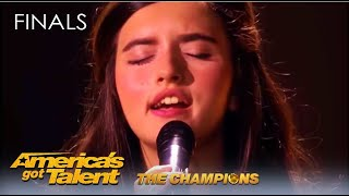 Angelina Jordan: She's Only 13 But This Norwegian Girl Will BLOW Your Mind! AGT Champions