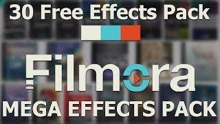 filmora effect pack