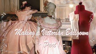 MAKING AN 1860s BALLGOWN | Little Women Inspired | Part 1