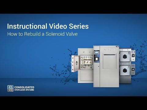 How To Rebuild an Autoclave Solenoid Valve