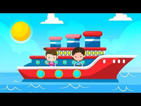 Transport Song | A Simple Song for Kids Learning English