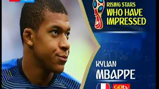 Rising Stars that have impressed in Russia 2018