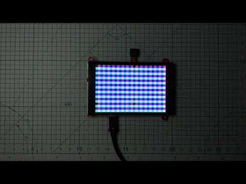 Arduino_GFX 3-bit Canvas to 3-bit ILI9488 480x320