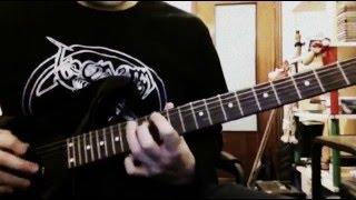 Abigor - I Face The Eternal Winter (guitar cover)
