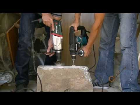 TEST Makita HR2810 800W/2.9J Vs Metabo UHE 2850 Multi 1010W/2.8J