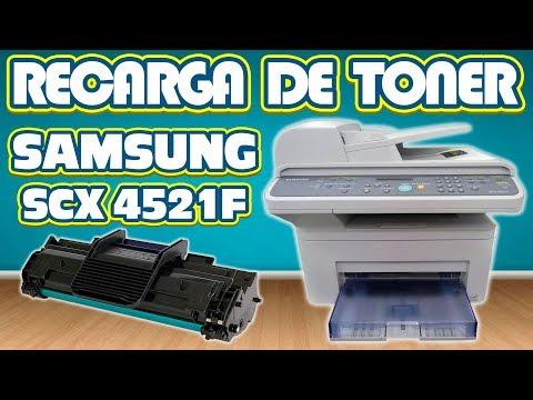 RECARGA │REFILL DE TONER SAMSUNG SCX4521F