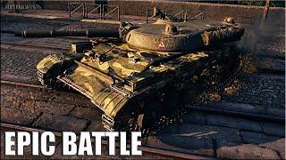 СТАТИСТ показал КАК ИГРАТЬ НА Т-100 ЛТ 🌟 epic battle 🌟 World of Tanks лучший бой на лт 10 СССР