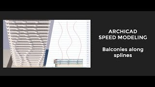 How to model balconies along splines