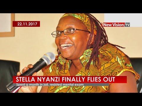 How Stella Nyanzi finally flew out