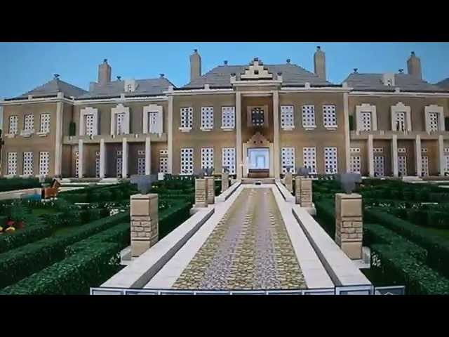 Minecraft Biggest Mansion Palace Tour Massive ...