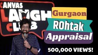 Gurgaon, Rohtak & Appraisals | Stand-up Comedy by Garv Malik