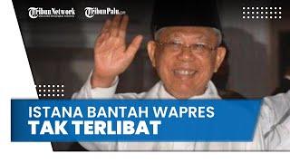 Bantah Wapres Ma'ruf Amin Tak Dilibatkan Susun Perpres Miras, Istana: Ya Tidaklah, Kita Satu Perahu